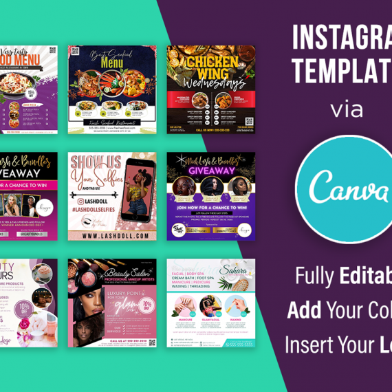 Instagram Flyer Templates Canva